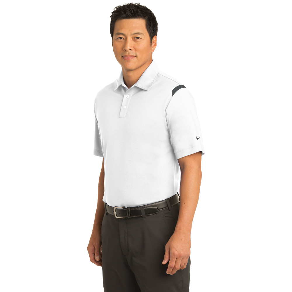 58662a40 402394 Nike Dri-FIT Shoulder Stripe Polo
