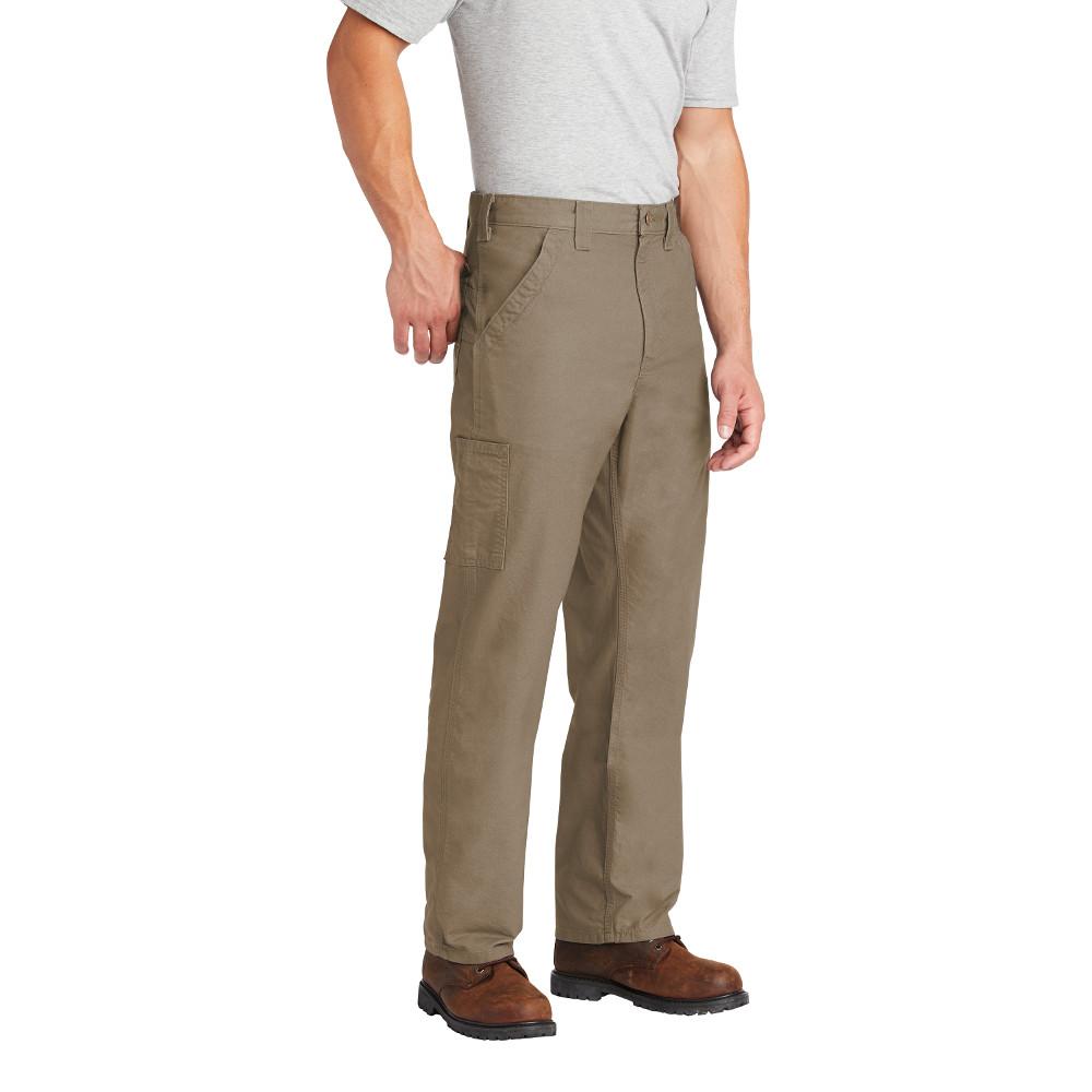 Tan /& Dark Khaki B151 Carhartt Men/'s 100/% Cotton Canvas Work Dungaree Pant