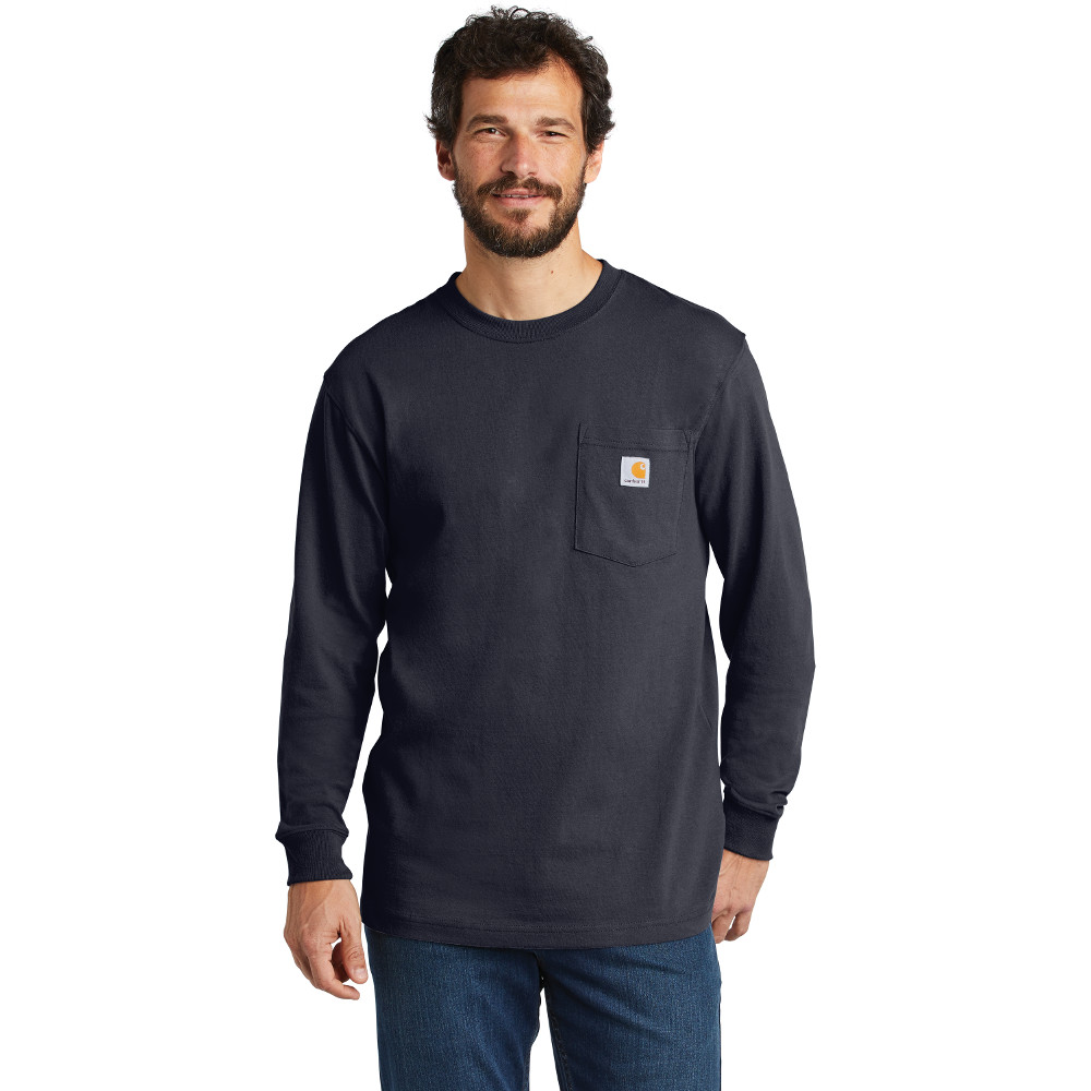 best price fashion preview of K126 Carhartt ® Workwear Pocket Long Sleeve T-Shirt