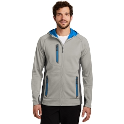 EB244 Eddie Bauer ® Sport Hooded Full-Zip Fleece Jacket