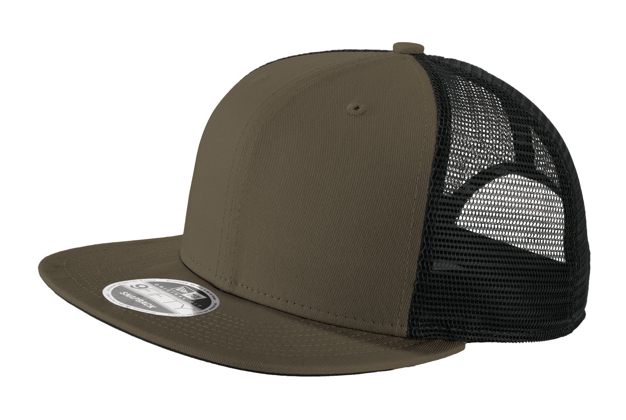 7fcf3a703270c3 NE403 New Era® Original Fit Snapback Trucker Cap