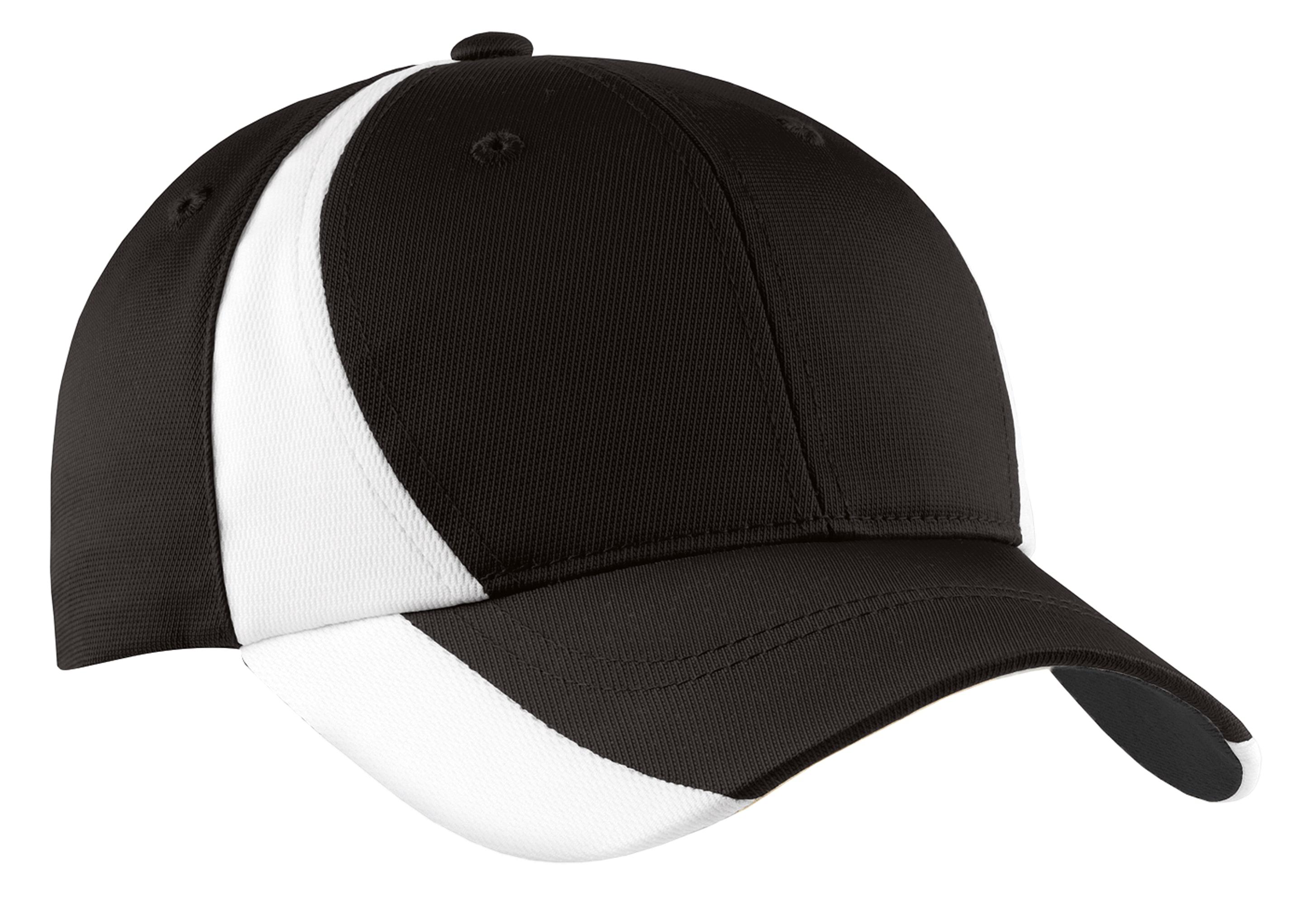 Stc11 Sport Tek Dry Zone Nylon Colorblock Cap Browse all hats for baseball, basketball, football, golf and more. stc11 sport tek dry zone nylon colorblock cap