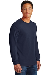 2410 Ultra Cotton® 100% Cotton Long Sleeve T-Shirt with Pocket