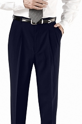 2695 Edwards® Men's Polyester Pleated Pant