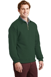 4528M JERZEES® SUPER SWEATS® NuBlend® - 1/4-Zip Sweatshirt with Cadet Collar