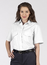 5212 Edwards Ladies Short Sleeve Navigator Shirt