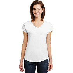 6750VL Anvil Ladies Tri-Blend V-Neck Tee