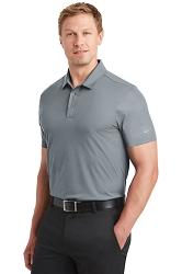 838964 Nike® Golf Dri-FIT Embossed Tri-Blade Polo