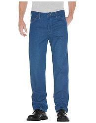 9393 Dickies® Regular Straight Fit 5-Pocket Denim Jean