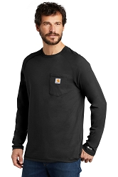 100393 Carhartt Force ® Cotton Delmont Long Sleeve T-Shirt