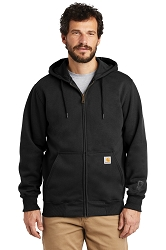 100614 Carhartt® Paxton Heavyweight Zip Front Hooded Sweatshirt