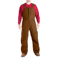 TB246 Dickies Sanded Duck Insulated Bib Overalls