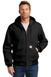 J131 Carhartt® Duck Active Jacket - Thermal Lined