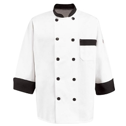 KT74BT Red Kap Garnish Chef Coat