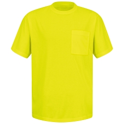 SY06YE Red Kap Enhanced Visibility T-Shirt