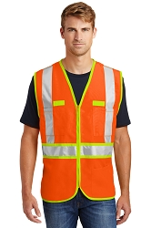 CSV407 CornerStone® ANSI 107 Class 2 Dual Color Safety Vest