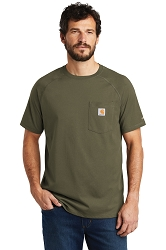 100410 Carhartt Force ® Cotton Delmont Short Sleeve T-Shirt