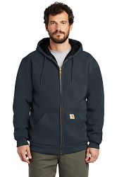 100632 Carhartt® Rutland Thermal Lined Zip Front Hooded Sweatshirt