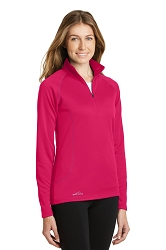 EB237 Eddie Bauer® Ladies 1/2-Zip Base Layer Fleece