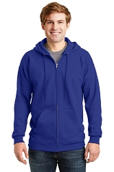 F283 Hanes® Ultimate Cotton® - Full-Zip Hooded Sweatshirt