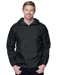 J1005 Tri-Mountain Squall Nylon Hooded Jacket