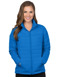 JL8260 Tri-Mountain Lacey Women's Quilted Puffer Jacket