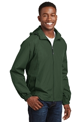 JST73 Sport-Tek® Hooded Raglan Jacket