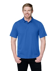 K020 Tri-Mountain Vital Men's Mini-Pique Performance Polo