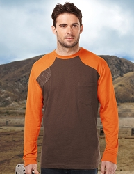 K086LS Tri-Mountain Woodruff Long Sleeve