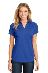 L574 Port Authority® Ladies Digi Heather Performance Polo