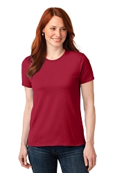 LPC55 Port & Company® Ladies Core Blend Tee