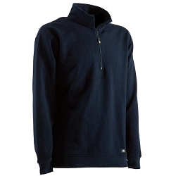 SP450 Berne® Unlined Quarter Zip Sweatshirt