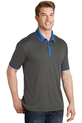 ST667 Sport-Tek® Heather Contender™ Contrast Polo
