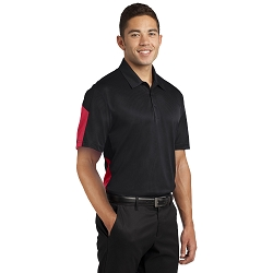 ST695 Sport-Tek® PosiCharge® Active Textured Colorblock Polo