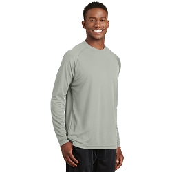 T473LS  Sport-Tek® Dry Zone® Long Sleeve Raglan T-Shirt