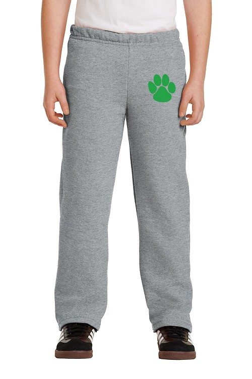18400B Youth Heave Blend Open Bottom Sweatpant