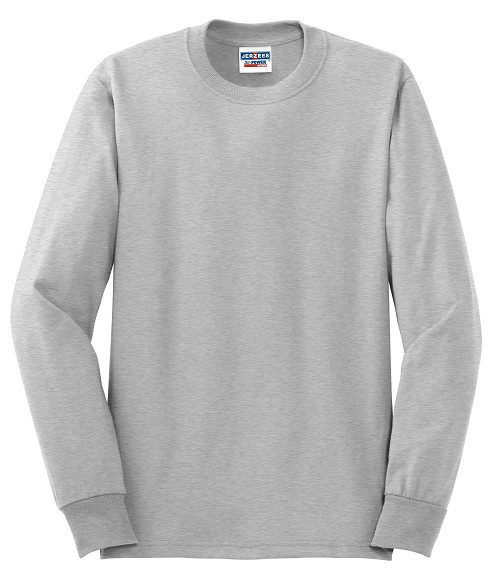 29LS  Jerzees Dri-Power® Active 50/50 Cotton/Poly Long Sleeve T-Shirt