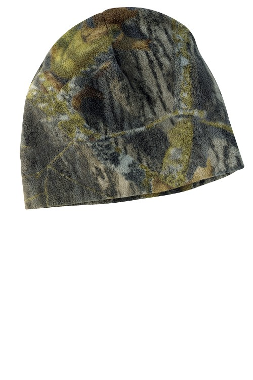 C901 Port Authority Camouflage Fleece Beanie