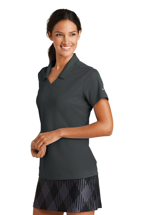 354067 Nike Ladies Dri-FIT Micro Pique Polo