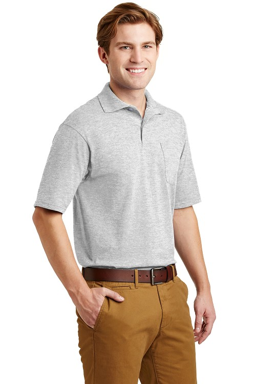 436MP JERZEES® SpotShield 50/50 Polo Shirt with Pocket