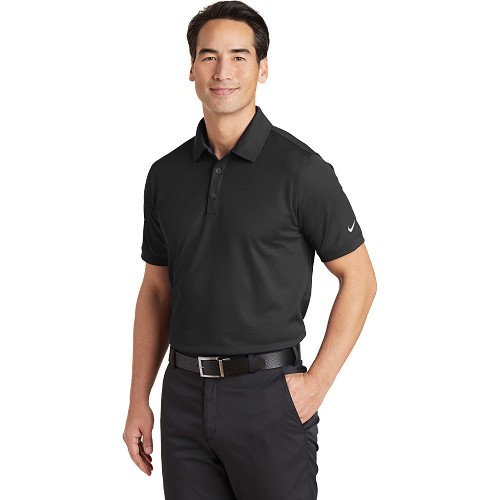 746099 Nike Dri-FIT Solid Icon Pique Modern Fit Polo
