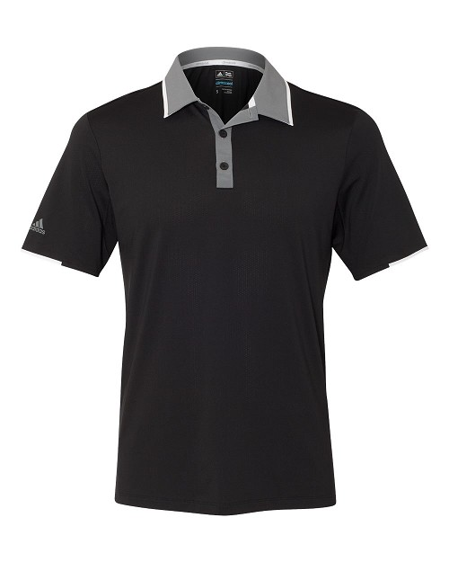 A166 Adidas® Climacool® Performance Colorblock Sport Shirt