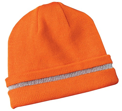 CS800 CornerStone® - Enhanced Visibility Beanie with Reflective Stripe