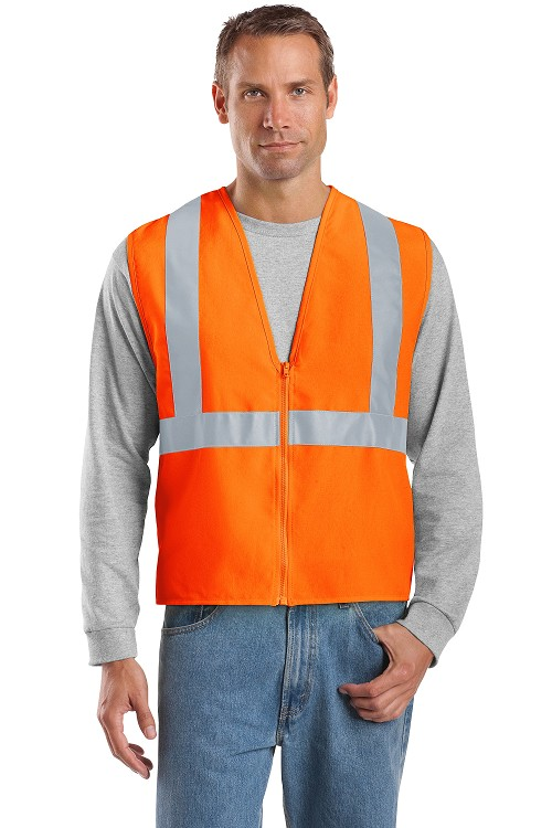 CSV400 CornerStone® ANSI 107 Class 2 Safety Vest