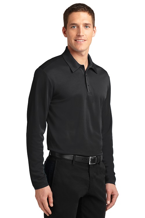 K540LS Port Authority® Silk Touch™ Performance Long Sleeve Polo