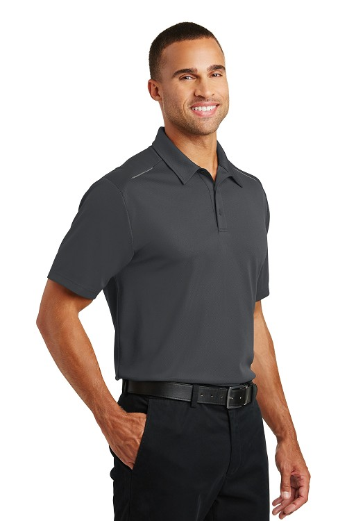 K580 Port Authority® Pinpoint Mesh Polo