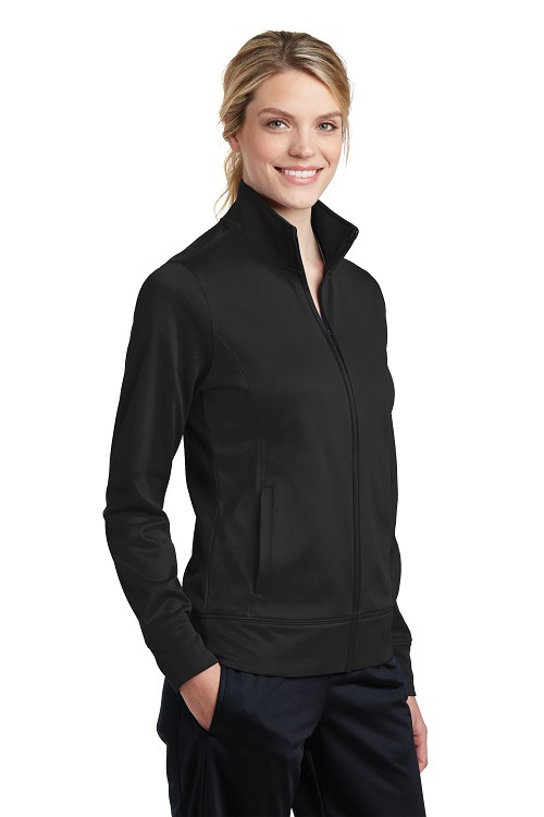 LST241 Sport-Tek® Ladies Sport-Wick® Fleece Full-Zip Jacket