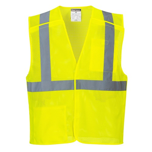 US384 Portwest® Economy Mesh Break-Away Vest